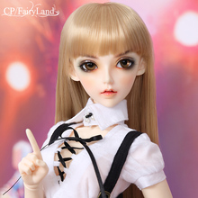 ตุ๊กตาBjd Sd Fairyland Feeple 60 Cilinชุดวิ่งFullset FL 1/3รุ่นLuts Littlemonica Supergem Dollmore Eid DelfวิกผมElfมุม