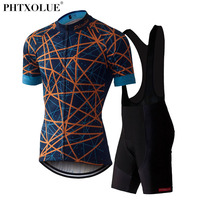 Phtxolue Cycling Clothing Wear Bike Men Clothes Ciclismo Kit Bicycle Jersey Set Team Cycling Jersey 2017 SF023