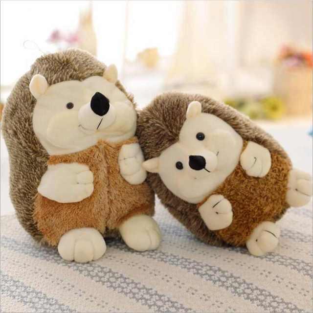Lovely Simulation Hedgehog Stuffed Animals Plush Toys Gifts Husky