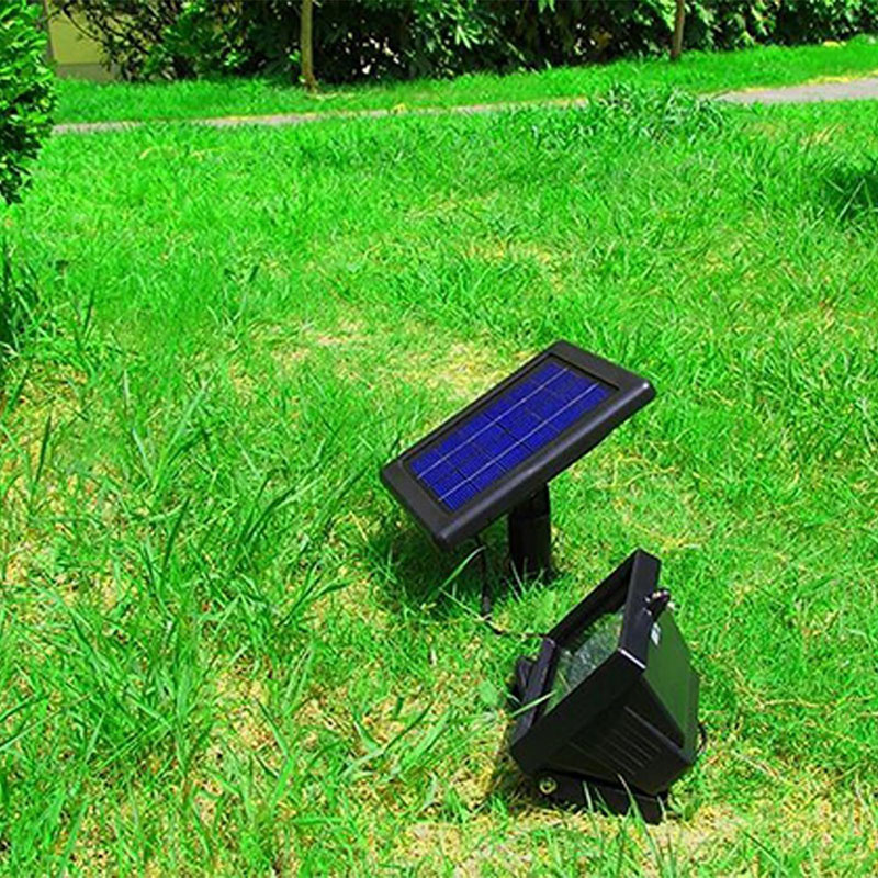 Waterproof Ultra Bright Solar Light 30 LED Outdoor Spot Flood Light Solar-Powered Spotlight Lamp Panel for Park Garden Billboard waterproof solar 2w 7000k 200lm 30 led flood cool white light project lamp black
