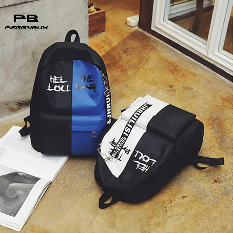 2019 Hot Nylon Women Backpack High Quality Korean Backpacks For Teenage Girls Boys School Shoulder Bag Bagpack Zipper Backbag #3