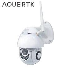 AOUERTK Speed Dome Kamera 1080P Wireless Outdoor Wasserdicht IP Kamera 2MP PTZ Cloud Sicherheit Kamera WIFI CCTV Kamera