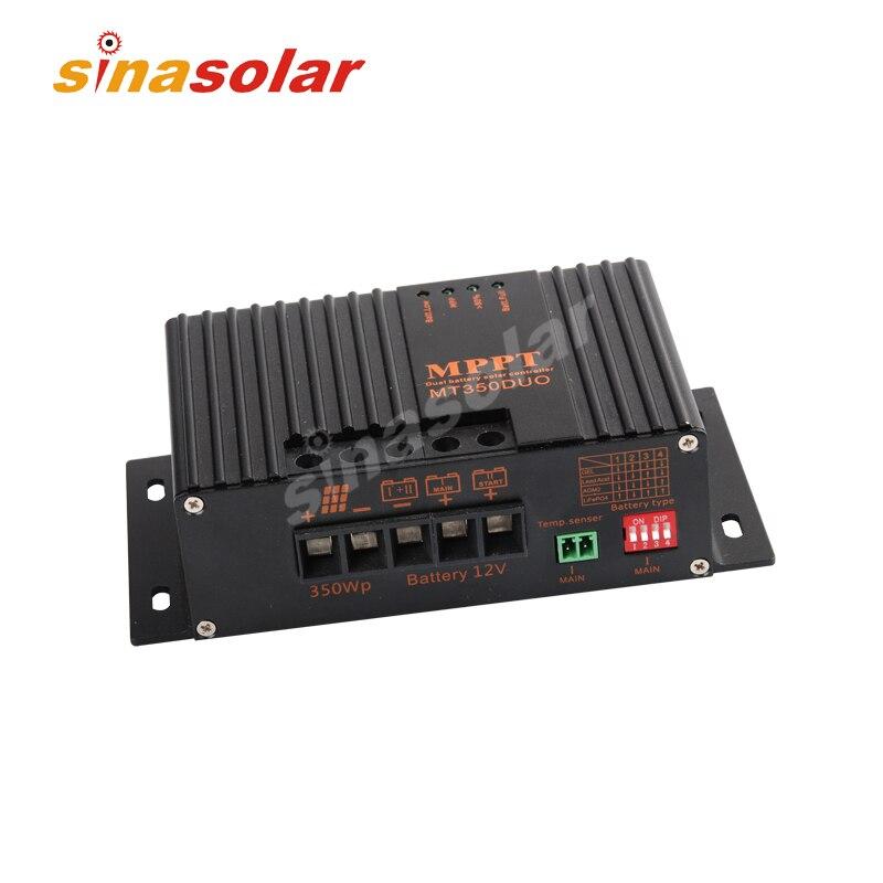 Double contrôleur/régulateur de Charge solaire 20A 12 V MPPT pour caravane
