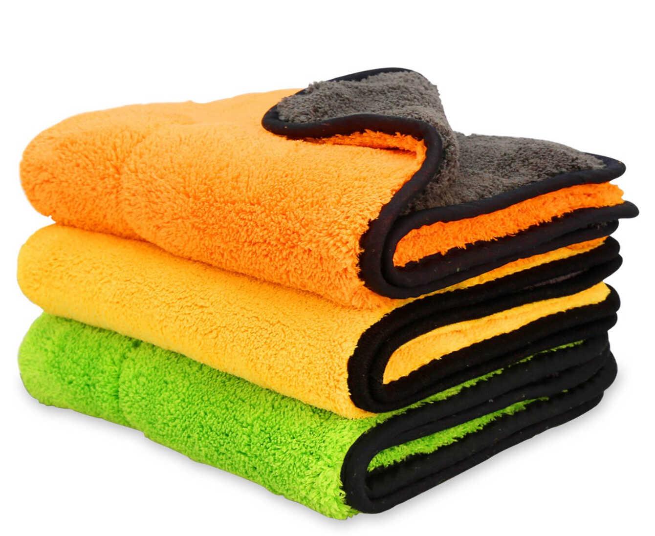 ล้างรถไมโครไฟเบอร์ผ้าขนหนูทำความสะอาดผ้าสำหรับ honda crf 450 nissan qashqai kia sportage 2018 กอล์ฟ mk4 renault clio 4