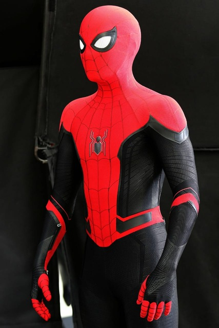 Newest Far From Home Spiderman Costume 3D Printed Spider Man Superhero Costume Cosplay Suit For Adult