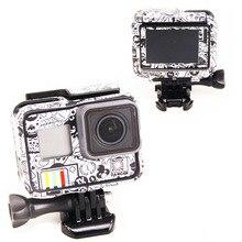 Новый продукт для Gopro Hero 5 Hero 6 Hero 7, наклейки для Go Pro 5/6, Спортивная камера Hero5 Hero6/7, защитный чехол, кожа