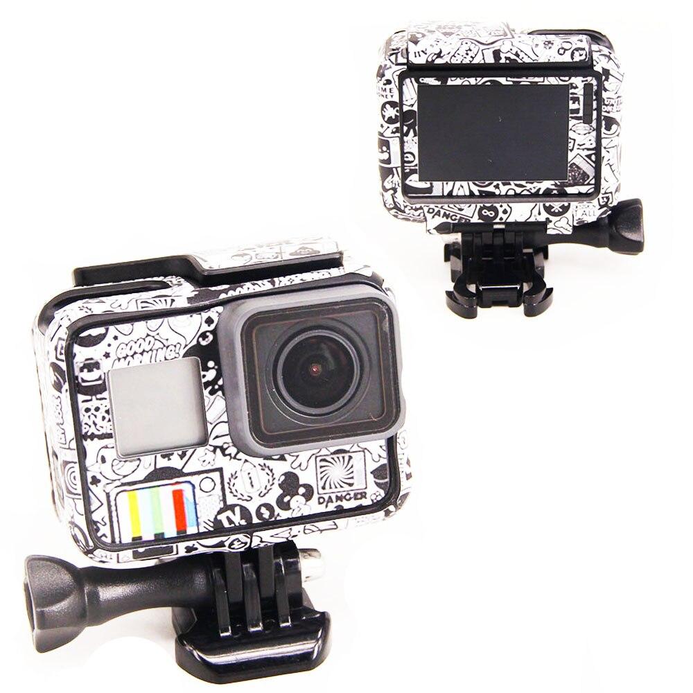 Nouveau Produit Pour Gopro Hero 5 Hero 6 autocollants Pour Go Pro 5/6 Sport Caméra Hero5 Hero6 Protecteur Cas Peau