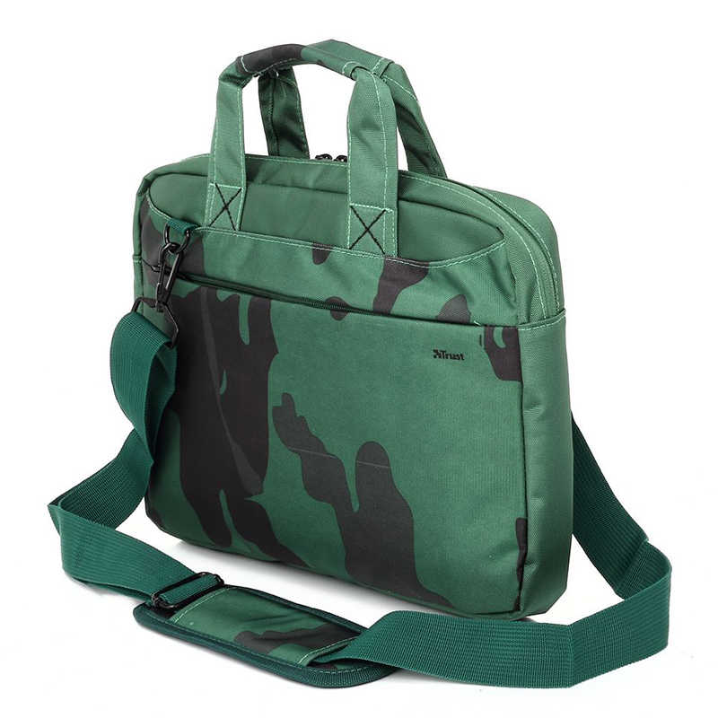 Camouflage Laptop Sleeve Handtas Mini Laptop Case Koffer Fit In 13 Inch Ipad A4 Pagina Mini Tas Groen Laptop schoudertas