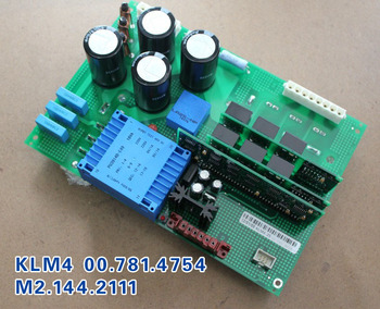 2 pieces Heidelberg compatible KLM4 wind pump M2.144.2111 driver board circuit board 00.781.4754 DHL free shipping