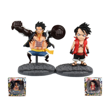 One Piece Anime Phone New World Rubber 4 Files Ape King Gun Action Figure Toy