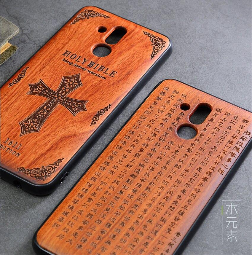 2018 New Huawei Mate 20 Lite Case Slim Wood Back Cover TPU Bumper Case For Huawei Mate 20 Lite Phone Cases Mate20 lite (2)
