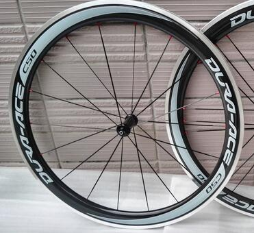 Cheap width 23mm 700c free shipping favorable sticker carbon clincher wheel 50mm alloy brake surface powerway R36 ceramic