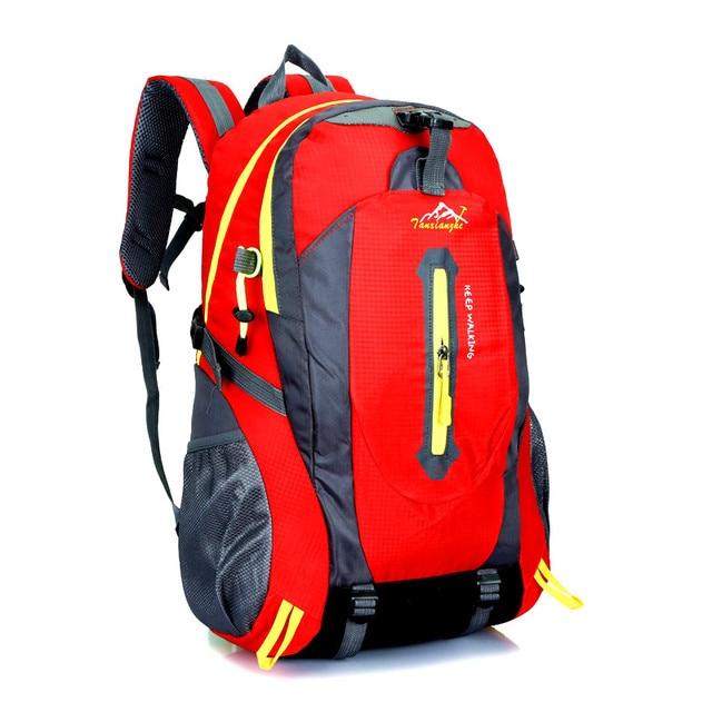 JOYPESSIE fashion school bag Waterproof Nylon men Backpack Hike Camp Climb Bag women mochila Travel Bag Rucksack trekking bag