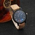 Venta caliente de La Manera Reloj de Los Hombres Relojes de Las Mujeres Relojes Correa de Cuero de Los Amantes De Madera Madera Reloj Unisex Reloj reloj mujer reloj hombre