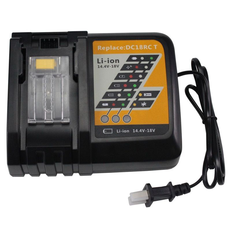 Power Tool Rechargeable Battery Charger for Makita DC18RC Li-Ion Battery Rapid 9A Charger BL1415 BL1430 BL1815 BL1830 charger for makita li ion battery bl1830 bl1430 dc18rc dc18ra dc18rct 100 240v 50 60hz
