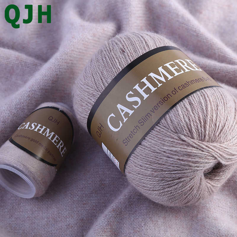 Najlepsza jakość 100% kaszmir mongolski ręcznie dzianina kaszmirowa wełna kaszmirowy szalik z kłębka włóczki z dzianiny wełna Yarny Baby 50 gramów