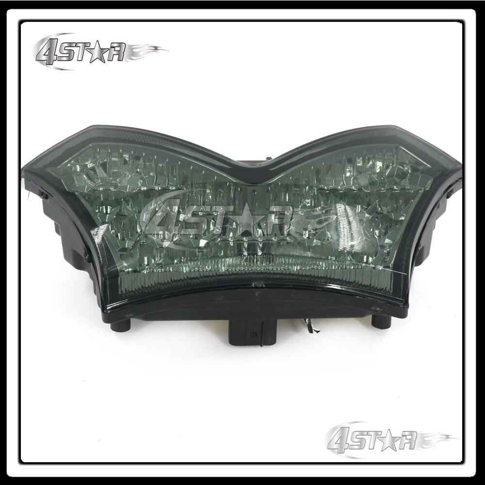 Somke LED Rear Turn Signal Tail Stop Light Lamp Integrated Brake Light For Ninja ZX14R ZZR1400 2006 2007 2008 2009 2010 11 12 13