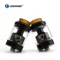 Electronic Cigarette Atomizer Original Advken Manta RTA Dual Coil Vape Tank 3 5ml 5ml Top Filling