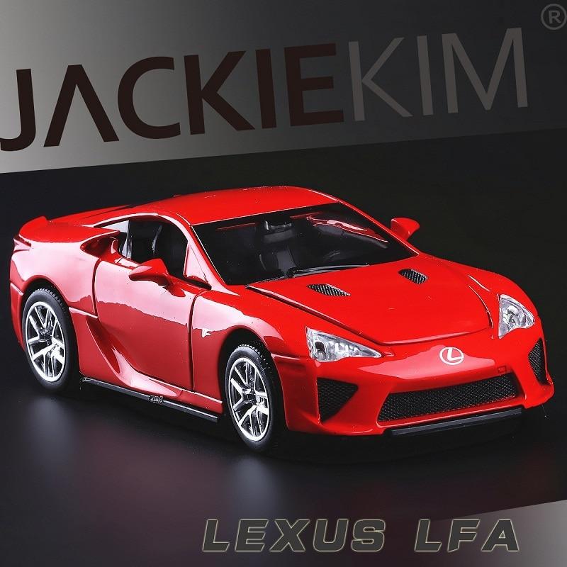 Lexus Lfa: High Simulation Exquisite Collection Toys: Double Horses
