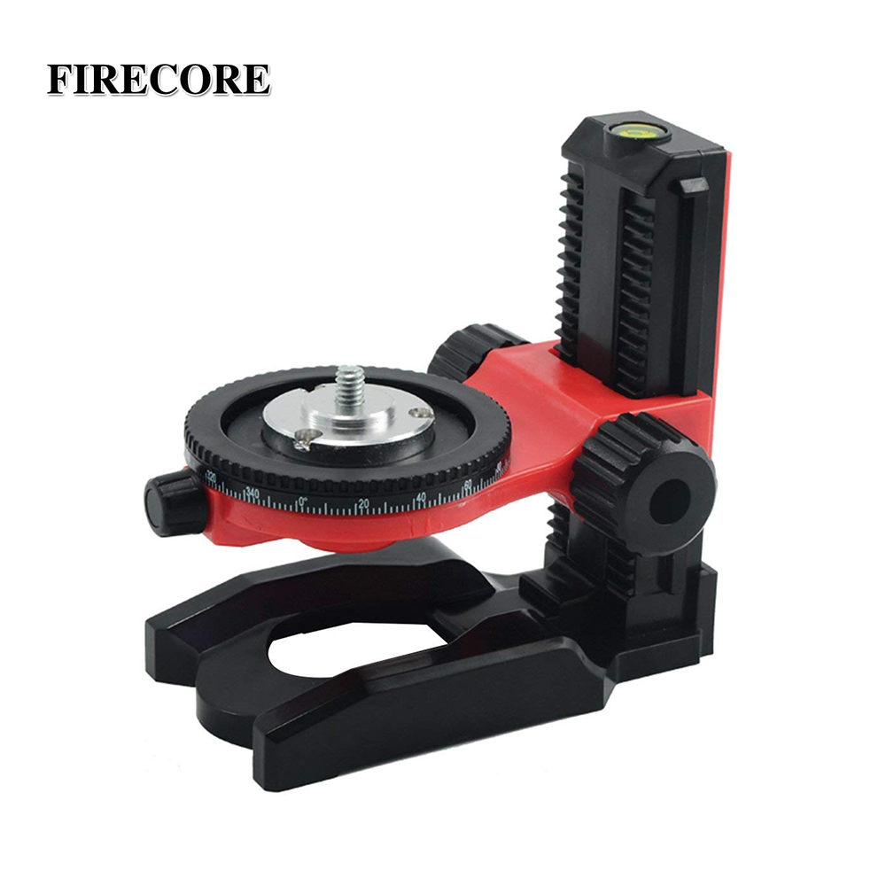 "FIRECORE F905 1/4"" Interface Adjustable Scale Bracket For Mini Laser Level Self Leveling Bracket Base Can Adjusting Up And Down-in Instrument Parts & Accessories from Tools"