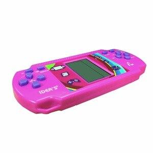 Image 4 - Wolsen Goedkopere Tetris Brick Handheld Game Player Pocket Speelgoed Handige Console Baksteen Game Radio Functie Grote Gift Voor Kid
