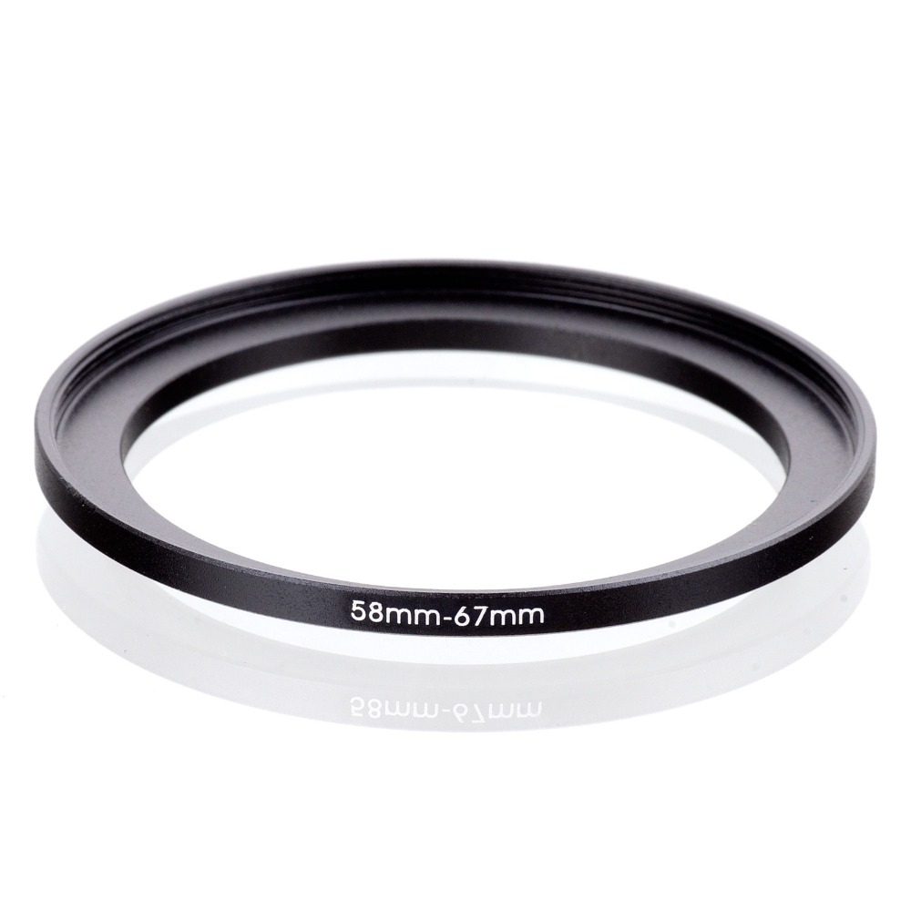 Original RISE(UK) 58mm-67mm 58-67mm 58 To 67 Step Up Ring Filter Adapter Black