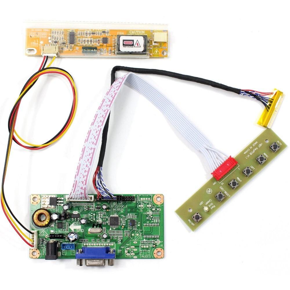 VGA LCD Controller Board For 15 B150XG02 N150XB QD15XL06 1024x768 LCD Screen