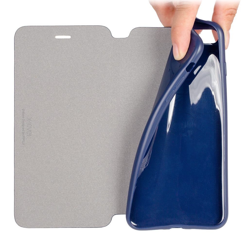 Mode Slim Kulit & TPU Balik Kasus Untuk Apple iPhone 8 7 6 6 s - Aksesori dan suku cadang ponsel - Foto 4