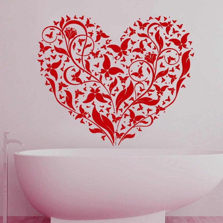16 fleur tuile autocollants salle de bain garden wall art décoration ...