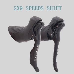 SENSAH Road Bike Shifter 2x8/2x9 Speed Brake Lever Bicycle Derailleurs Groupset For SHIMANO Rear Derailleurs(China)