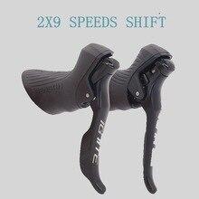Sensah Racefiets Shifter 2x 8/2X9 Speed Remhendel Fiets Derailleurs Groepset Voor Shimano Achterderailleurs