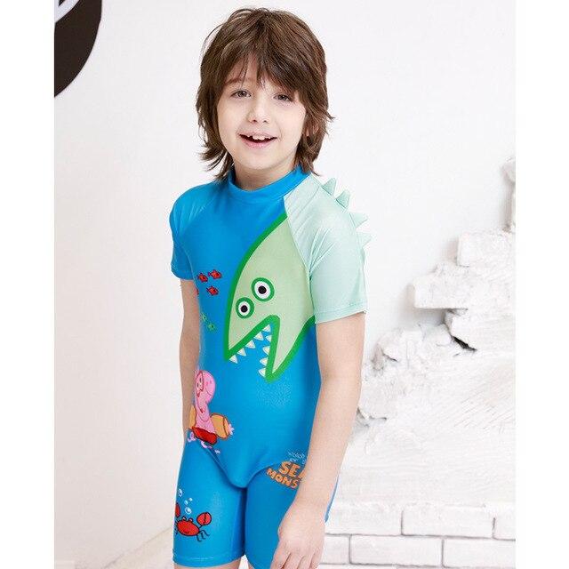 purchase cheap b32b9 1dcdc Kinder Bademode Baby Badeanzug Für Kleidung Rash Guard Mädchen Prinzessin  Schweine Kleinkinder Tier Polyester