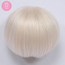 Perruque pour poupée BJD fairy land shinee ChicLine, 4.5-6 pouces, haute température, style Boyish L01C