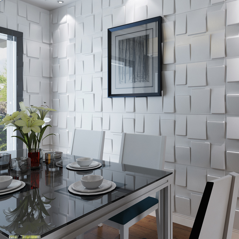 Home Decor Architectural 3D Wall Panels Textured Design