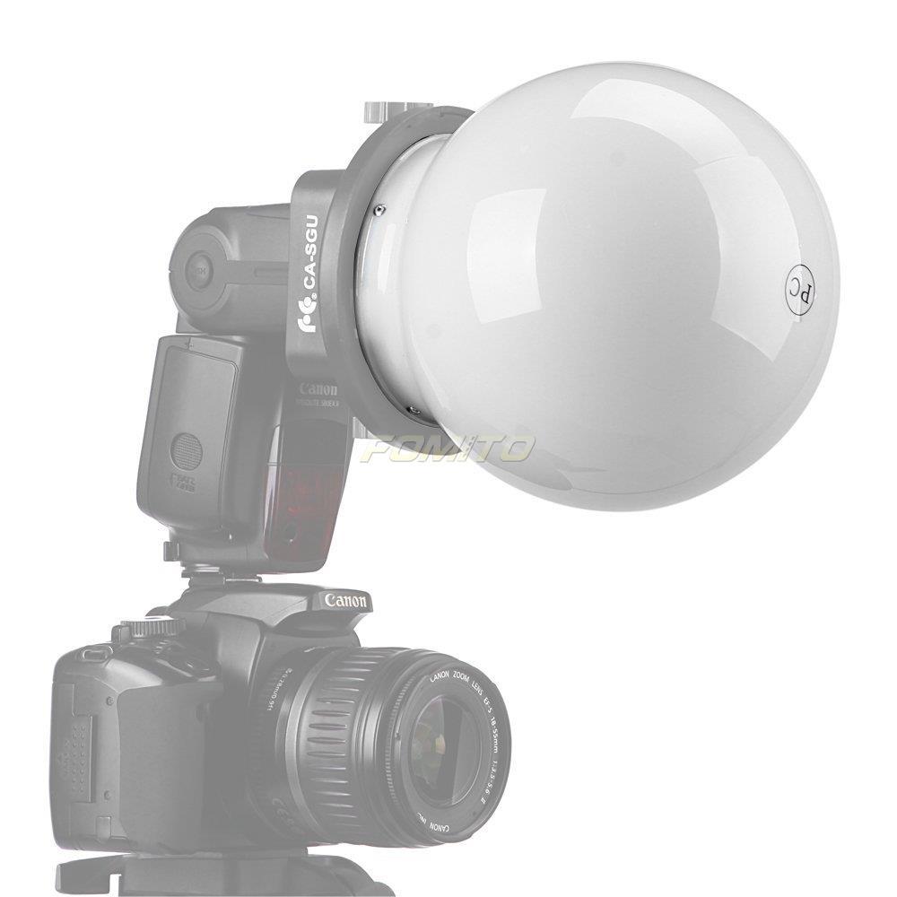 Fomito SGA DB150 Ball Diffuser Grobe Softbox for SGA K9 Flash Accessories Kit for canon for nikon for sony