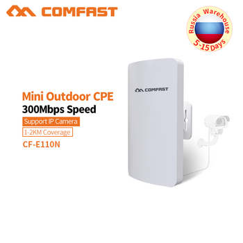 COMFAST 2.4G 300M Outdoor CPE Router WiFi Bridge Access Point AP Router Outdoor Mini Wireless WIFI Extender Repeater AP CF-E110N