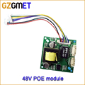 48V To 12V 1A Security pcb CCTV Network IP Cameras Power  Ethernet output IEEE802.3af compliant PoE Module board
