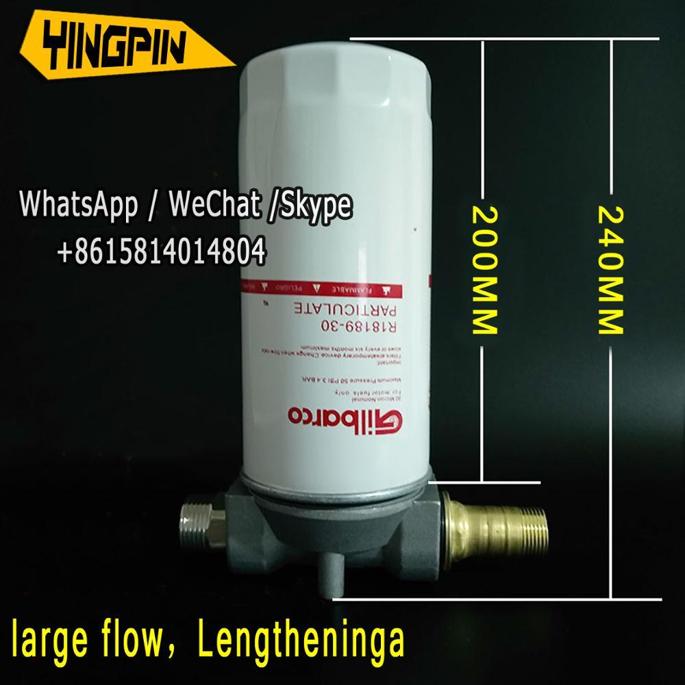Diesel filter oil water separator hydraulic oil oil pump burner filter