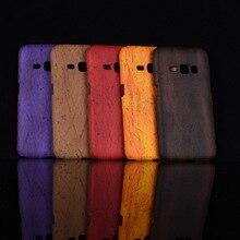 Nueva llegada para Samsung Galaxy Express 3 J120A madera cuero PC duro  teléfono cubierta para Samsung Galaxy J1 2016 j120F J120H 1bec9d9ee61a