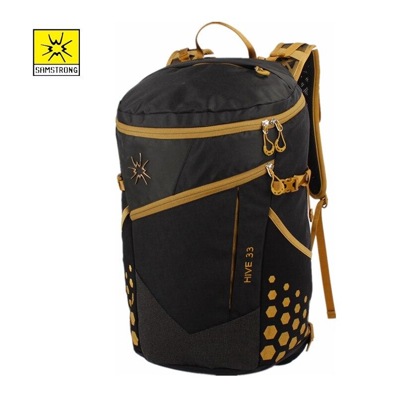 Samstrong Hive 33L Camping Hiking Backpack Men/Women Climbing Backpack Sport Travel Rucksack Mountain Bags Hiking Trekking Bags