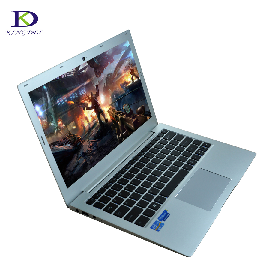 13.3 Inch Intel Core I7 7500U Ultraslim Laptop PC With Preinstalled Win10 Notebook Computer Backlit Keyboard 8GB RAM 256GB SSD