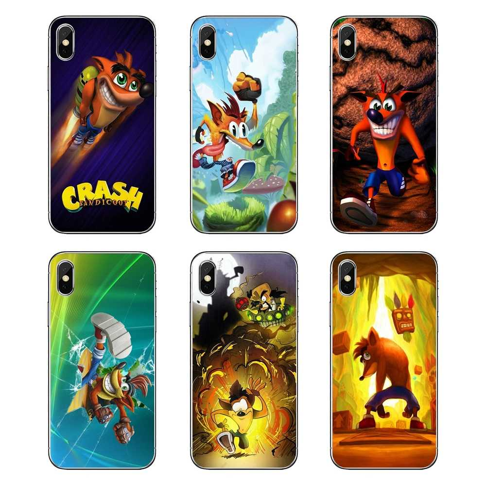 For Huawei Honor 8 8C 8X 9 10 7A 7C Mate 10 20 Lite Pro P Smart Plus Silicone Bag Case Aku Aku Crash Bandicoot Crash Team Racing
