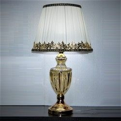 Styl europejski nowoczesna stołowa lampa do sypialni salon luksusowa dekoracja lampa na stolik nocny oświetlenie stołu