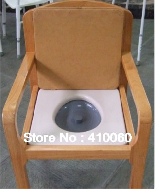 Aliexpress.com : Buy Comfortable & Durable Wooden Commode Chair from ...