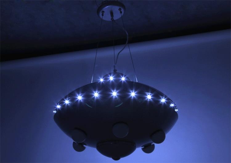 UFO ինքնաթիռի ջահ մանկական սենյակների - Ներքին լուսավորություն - Լուսանկար 4