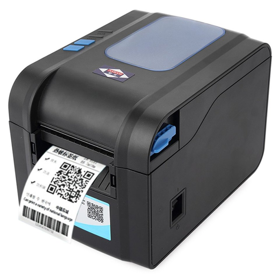 Color printer label - Aibao Bc 80152t Mini 80mm 203dpi Thermal Sensitive Resistance Label Barcode Thermal Printer With Free