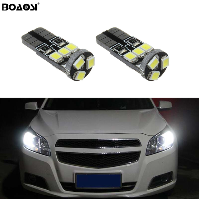 2x Canbus T10 W5w 168 194 Led Wedge Light No Error For Opel Zafira