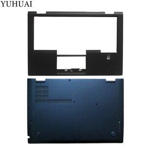 New For Lenovo Thinkpad X1 Yoga 1st Palmrest COVER 00JT863 SB30K59264/Laptop Bottom Base Case Cover SCB0K40141 00JT837