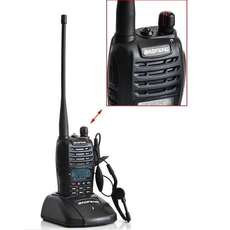 Baofeng UV-B6 5 W longue portée talkie-walkie double bande VHF/UHF deux voies Radio émetteur-récepteur Pofung UV B6 Portable Interphone FM Radio - 4
