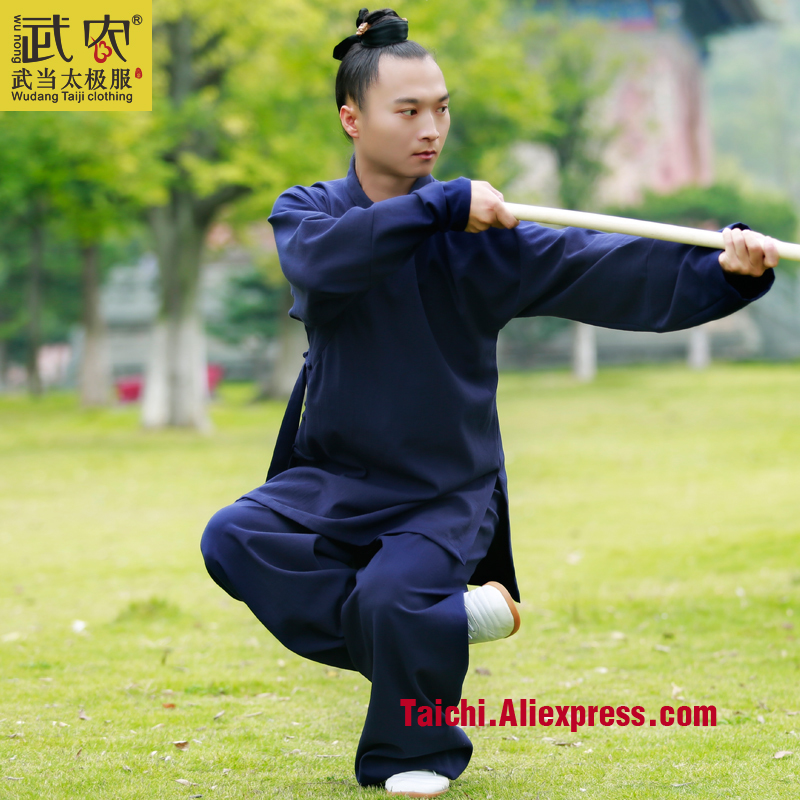Wu Nong Wudang Tai chi clothing and cotton winter morning suit surplices Wushu Taijiquan suit middle-aged uniforms tai chi clothing cotton clothes and costumes multicolor optional morning suit of taijiquan for men and women section